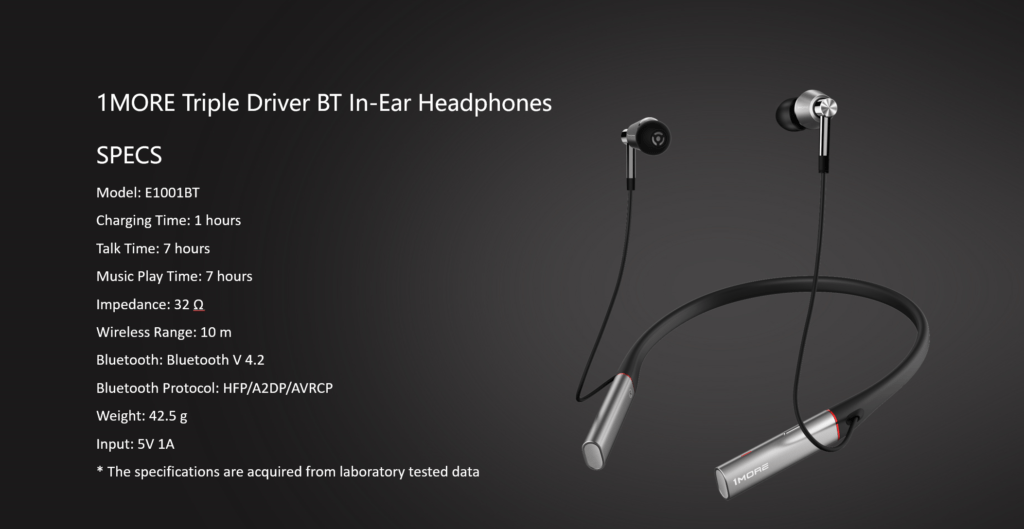 1MORE E1001BT Launched - Triple driver bluetooth in ear headphones 17