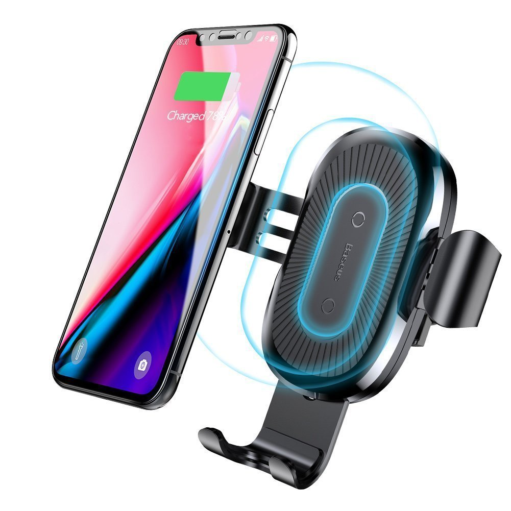 timeless design 31d68 bff33 Baseus Wireless Car Charger Review - Air-vent QI fast wireless charging