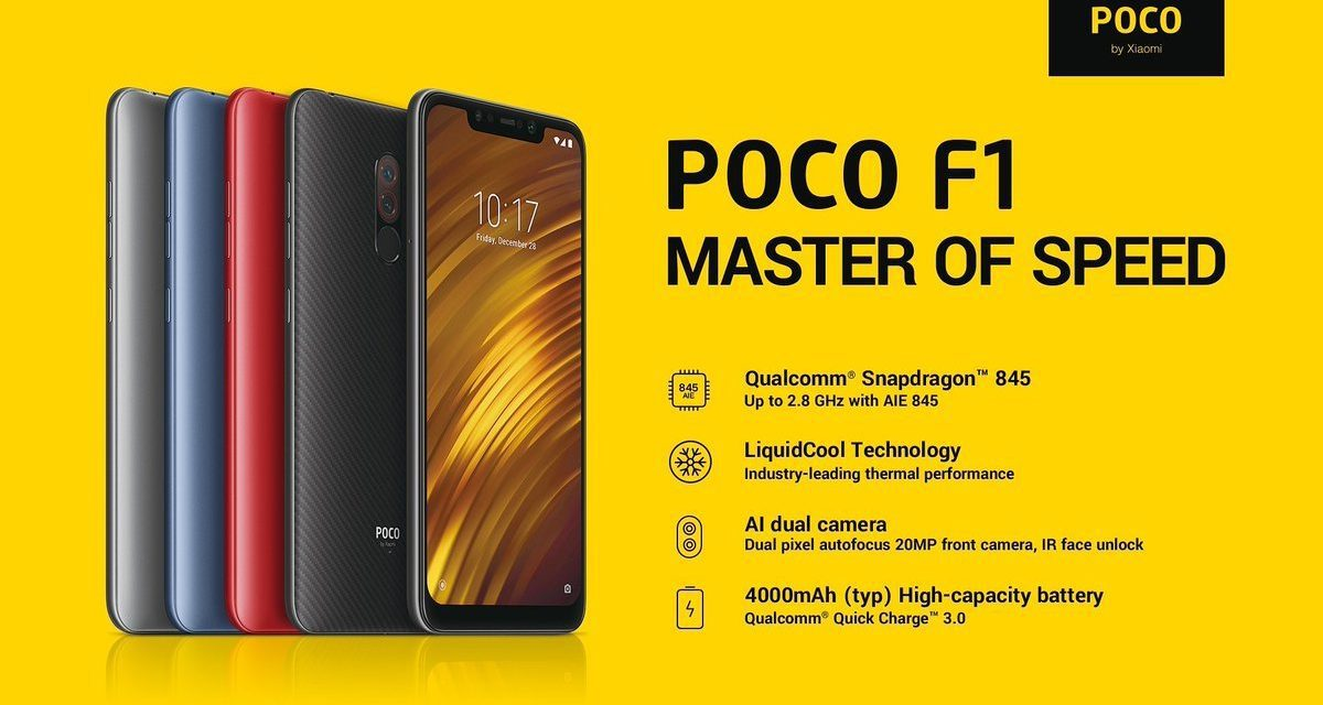 What are the best Xiaomi Pocophone F1 deals for UK buyers? Now £239 from GearBest – December Update