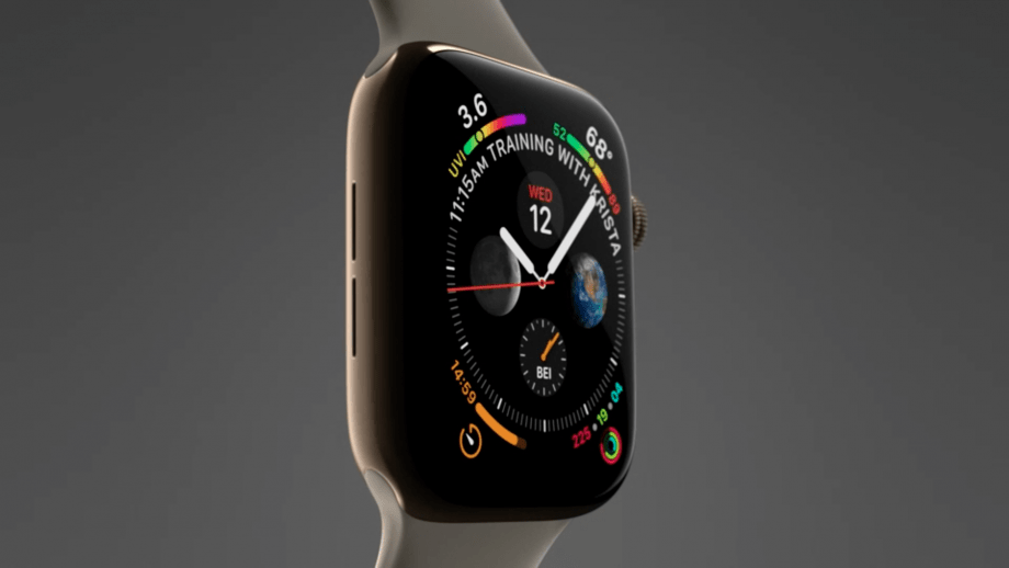 Apple Watch Series 4 launched with custom processor and improved HRM with ECG functions 4