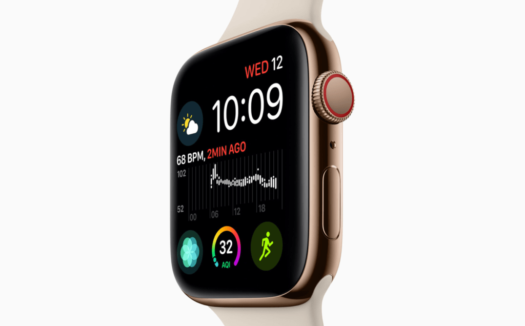 Apple Watch Series 4 launched with custom processor and improved HRM with ECG functions 3