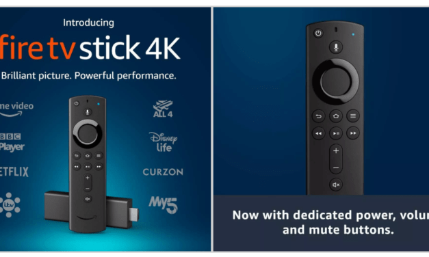 Amazon Fire TV Stick 4k (2018) now with Dolby Vision, HDR10+, and Dolby Atmos