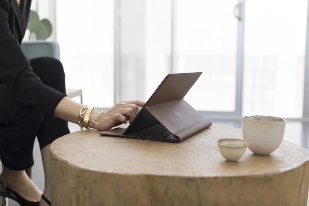 HP Spectre Folio is a beautiful leather clad always-on, always-connected PC 4