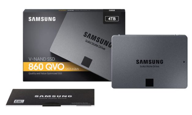 Samsung launches 860 QVO SSDs with up to 4TB capacity using QLC NAND