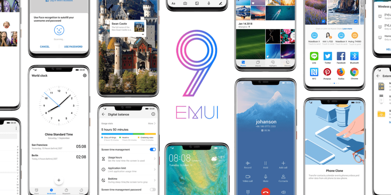 Huawei EMUI 9 Android Pie Release Date for P20 Pro, Mate10