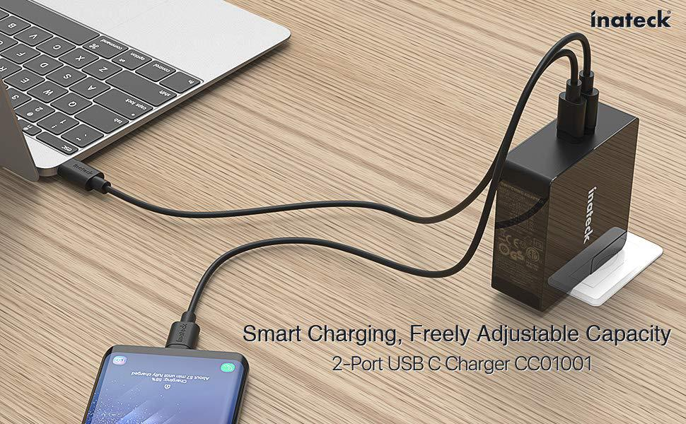 Review: Inateck 3 Port 45W USB C Charger & 60W Power Delivery Charger (compatible with MacBooks, Dell XPS etc)
