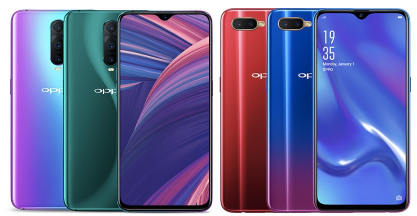 Oppo RX17 Pro & RX17 Neo arrive on 16th of November for €599/£522 & €349/£304