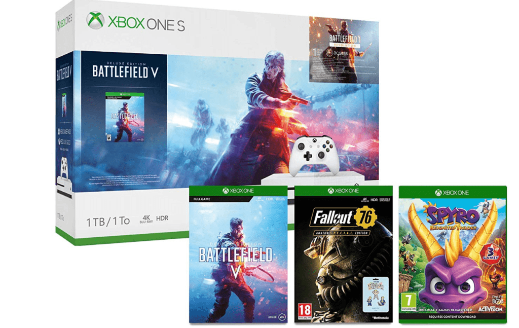 Amazon Black Friday Deals- PS4 Pro with RDR & Fallout 76 for £339 / Netgear Orbi RBK50 £199 2