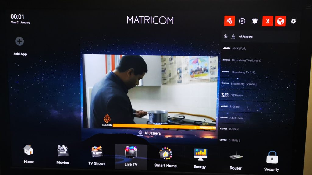 Matricom Arc Smart Home Management System (Router, Z-Wave controller, and media player) 4