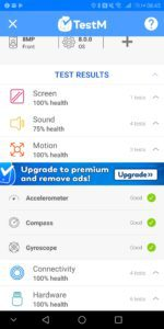 TestM Review – An app to test a used phone for errors 5
