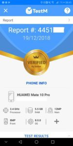 TestM Review – An app to test a used phone for errors 4