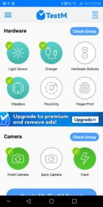 TestM Review – An app to test a used phone for errors 3