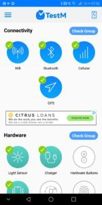 TestM Review – An app to test a used phone for errors 2