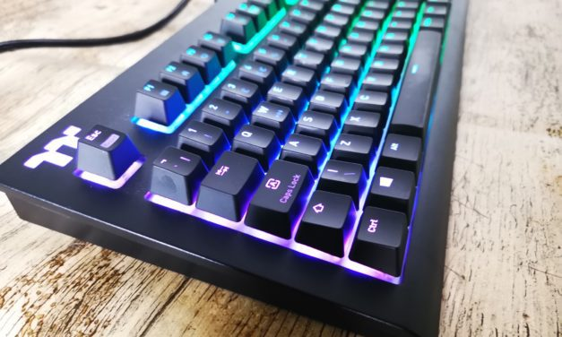 Thermaltake TT Premium  X1 RGB Cherry Blue Switch Mechanical Gaming Keyboard