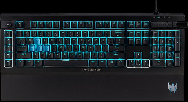 Acer Predator Aethon 500 Mechanical Gaming Keyboard Review