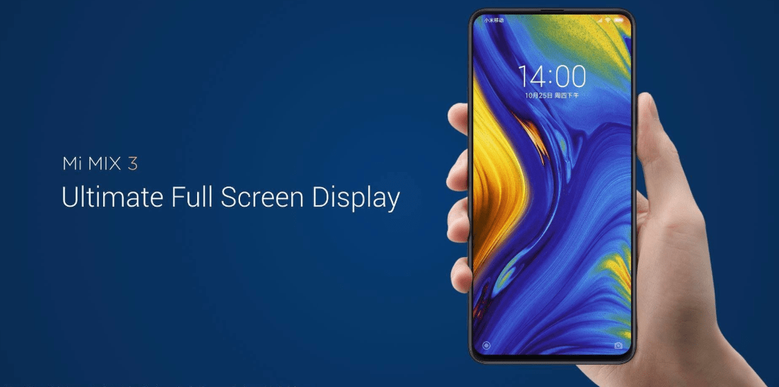 Xiaomi Mi MIX 3 with Snapdragon 855 & 5G will launch in Europe in the first half of 2019.
