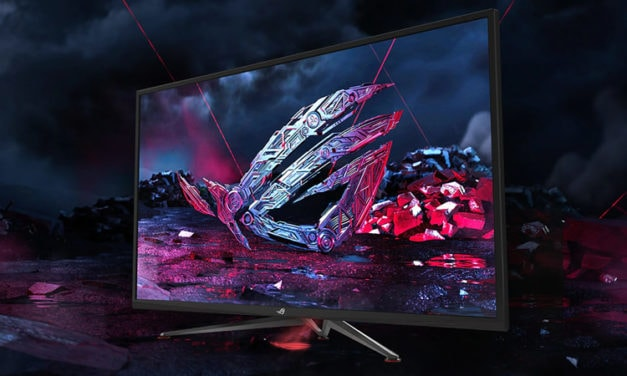 Asus ROG Strix XG438Q a 43-inch DisplayHDR 600 120Hz 4K announced at CES