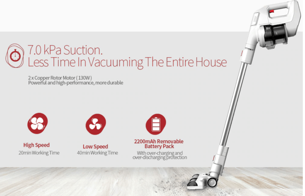 Alfawise FJ166A Cordless Handheld Stick Vacuum Cleaner Review – An affordable Dyson V6 or V7 1