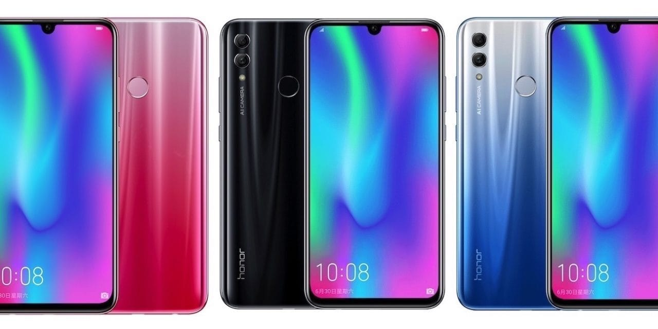 HONOR 10 Lite Launched with dewdrop notch, dual cameras & Kirin 710 for £199