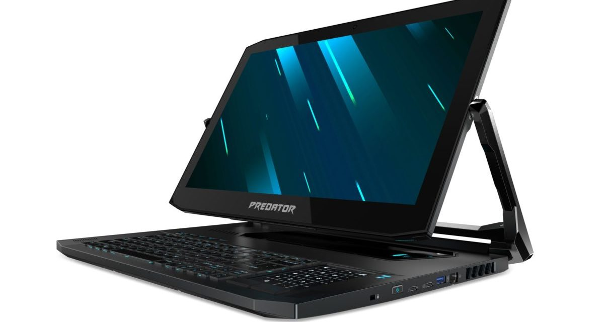 Acer Predator Triton 900 Gaming Notebook with NVIDIA GeForce RTX 2080 GPU Announced at just 2.1KG for £3.7k