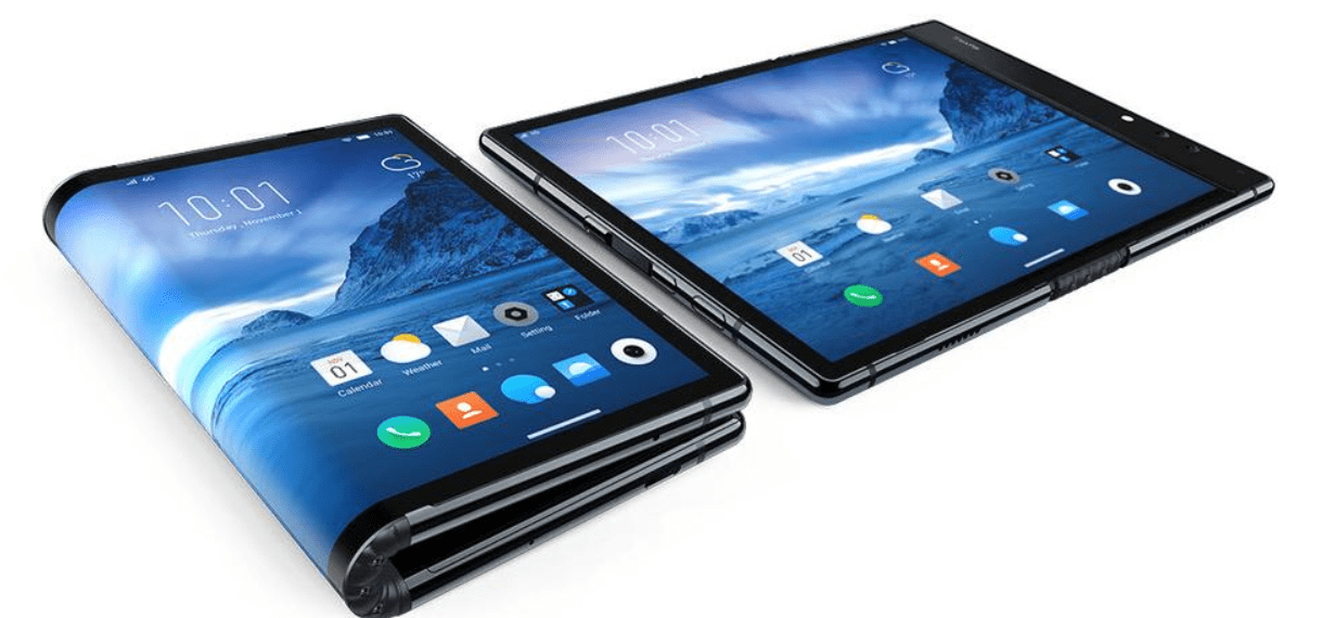 Royole FlexPai smartphone worlds first commercially available foldable phone with Snapdragon 855