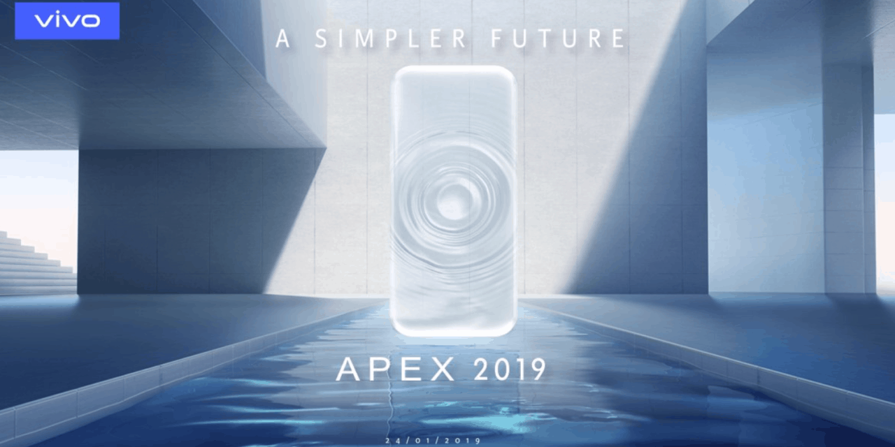 Vivo Apex 2019 has glass body, no ports, buttons and used a magnetic charger