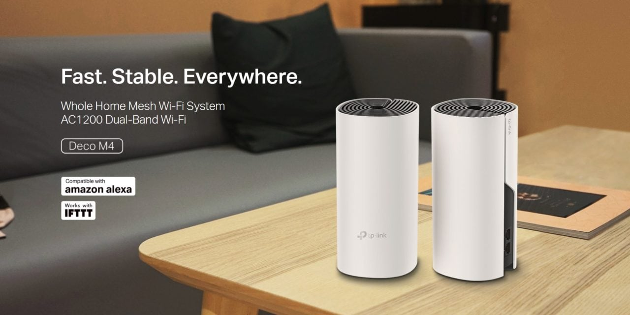TP-Link Deco M4 launched. Affordable AC1200 Mesh Wi-Fi