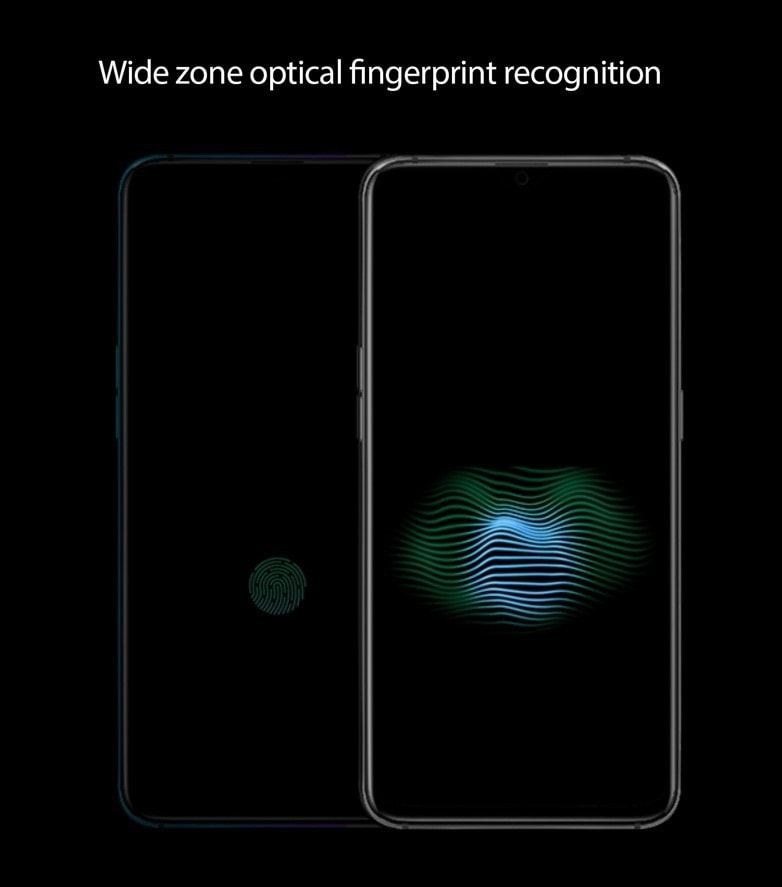 OPPO announces 10x lossless zoom will debut at MWC 2019 + new wide zone optical fingerprint recognition 2