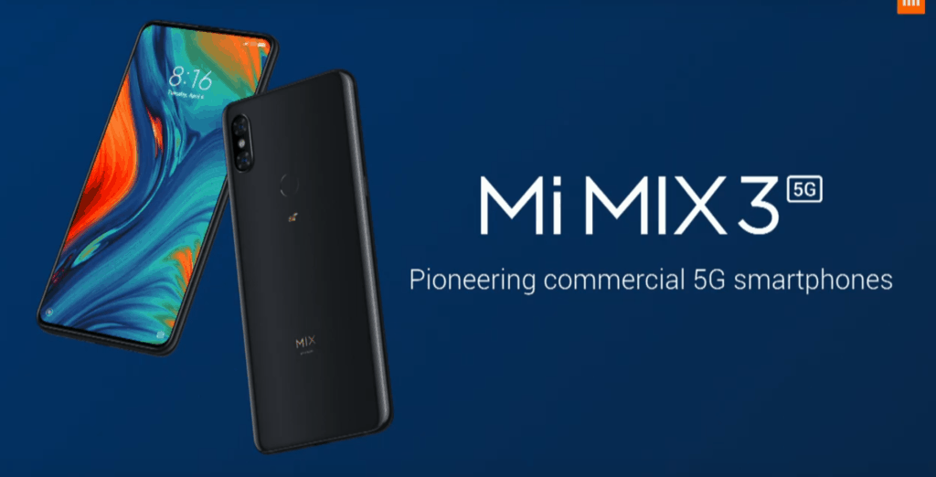 Xiaomi announce Mix 35G device at #MWC19 priced at £520 available from May 7