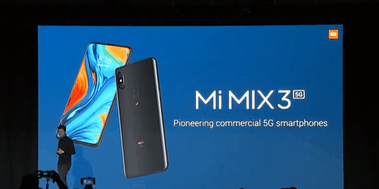 Xiaomi announce Mix 35G device at #MWC19 priced at £520 available from May