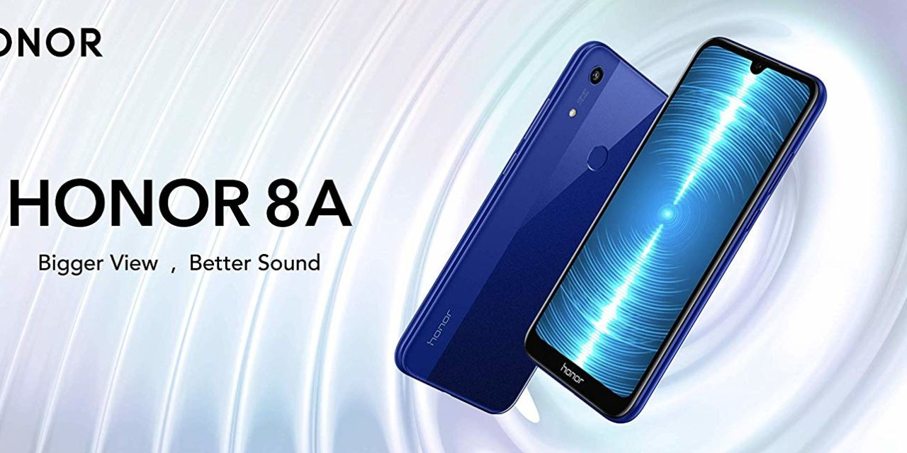 Honor 8A announced for £139.99 with 6.1-inch dew drop display & 13MP camera