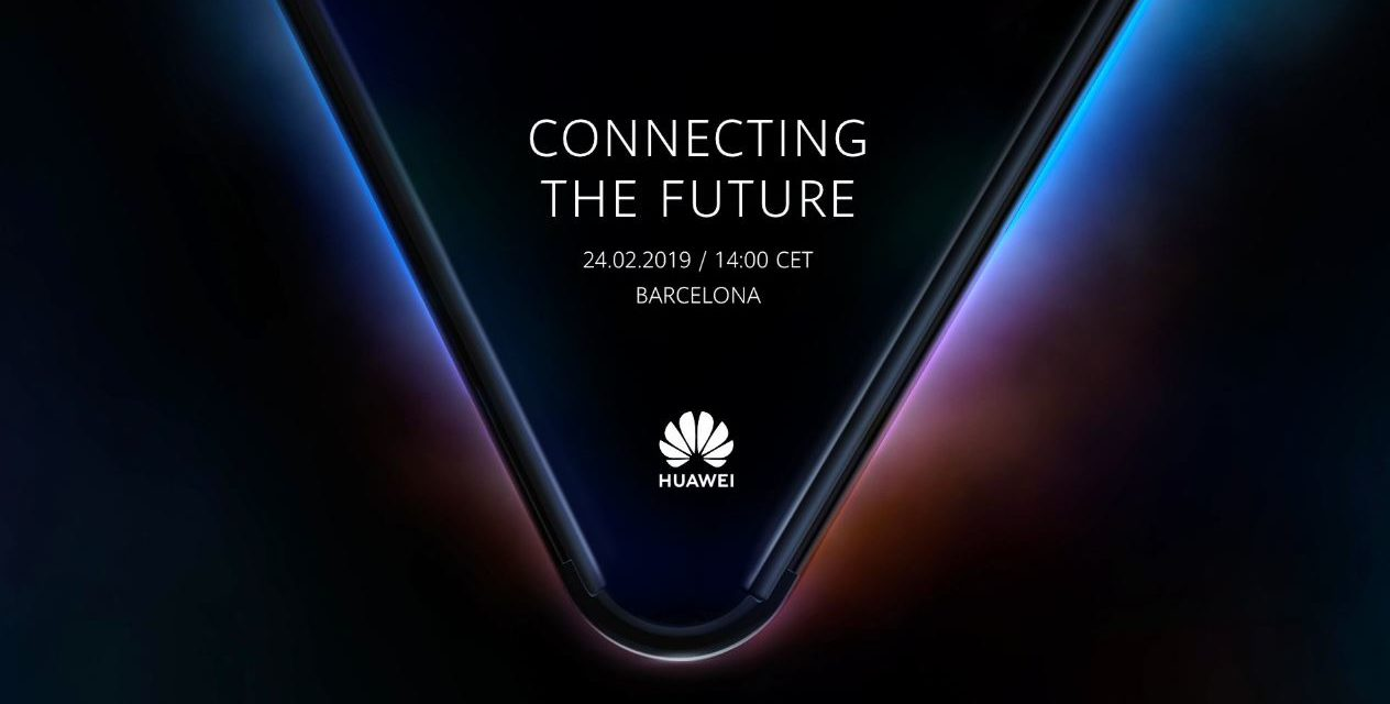 Huawei will announce its 5G Foldable Phone at MWC 2019