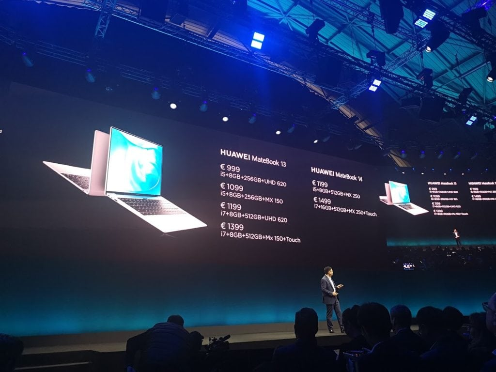 Huawei Matebook X Pro refreshed for 2019 with i7 8565u & Nvidia MX250 2GB. Plus new OneHop NFC sharing tech 5