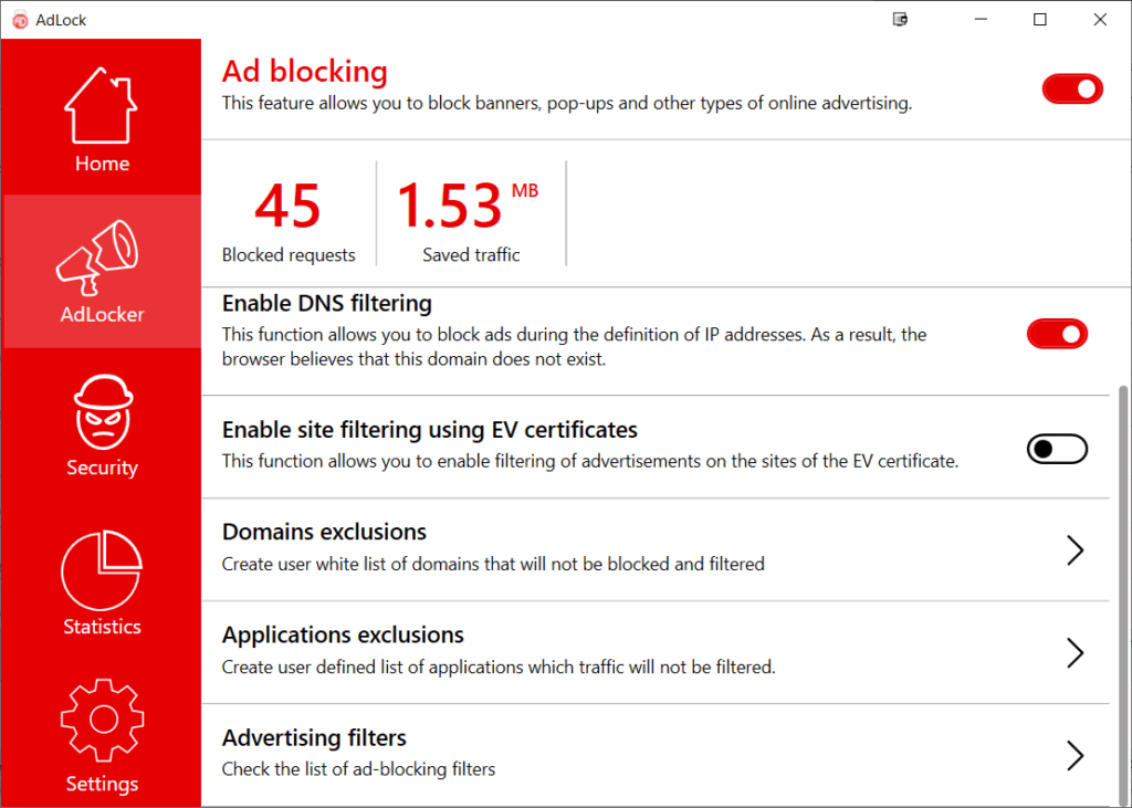 AdLock Review – An app-based system-wide ad-blocker for Windows & Android. No root needed. 2