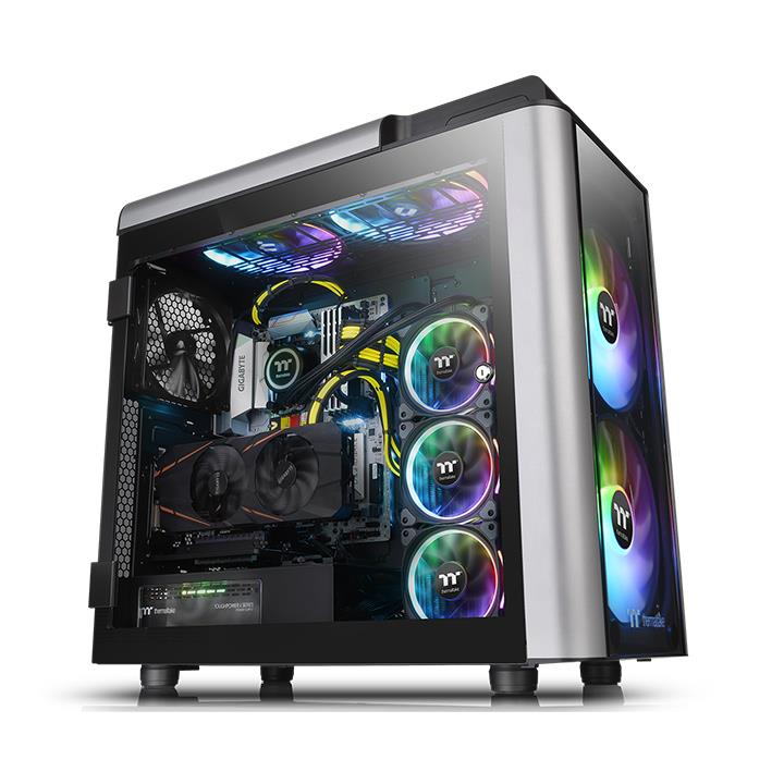 Thermaltake Level 20 GT Tempered Glass ARGB Full Tower PC Case Review 17