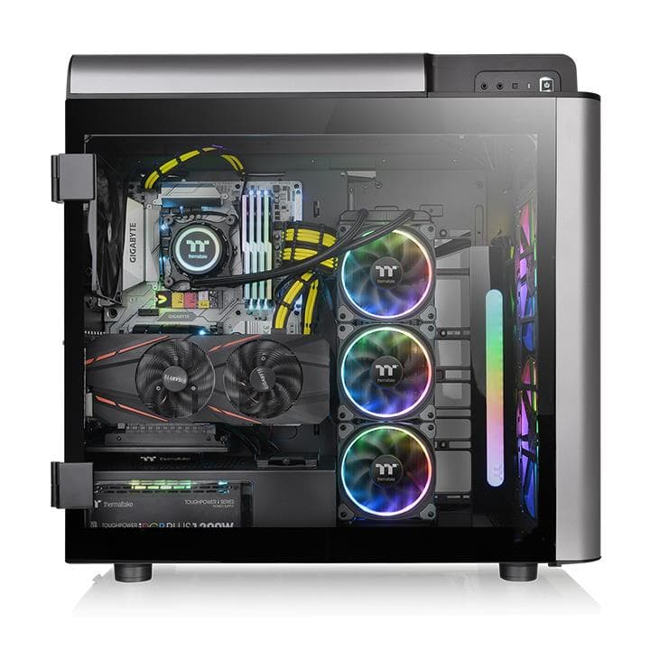 Thermaltake Level 20 GT Tempered Glass ARGB Full Tower PC Case Review 19