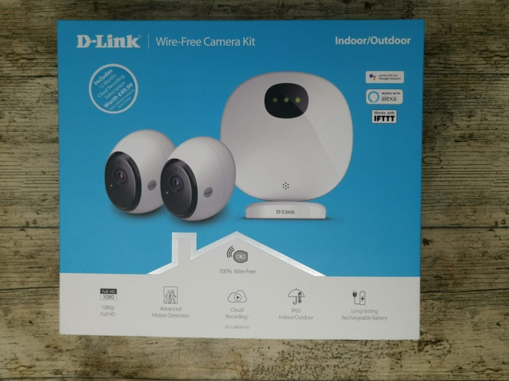D-Link Wire-Free Camera Kit Review – A competitively priced wire free surveillance system - DCS‑2802KT‑EU 5