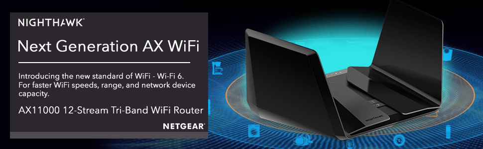 Netgear Nighthawk Tri-band AX12 12-Stream Wi-Fi 6 Router (RAX200) Launched. Priced at $599