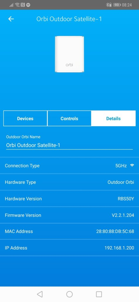 Netgear Orbi Outdoor Satellite Review (RBS50Y) 8