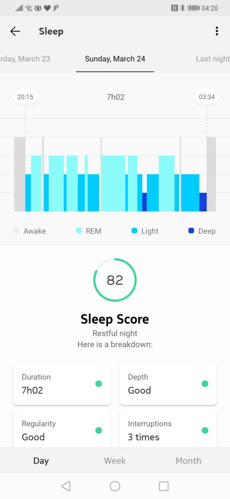 Withings Sleep Tracking Mat Review – Sleep tracking, Apnoea detection & home automation 12