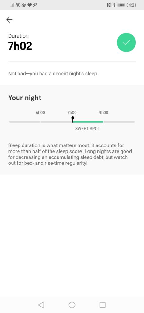 Withings Sleep Tracking Mat Review – Sleep tracking, Apnoea detection & home automation 14