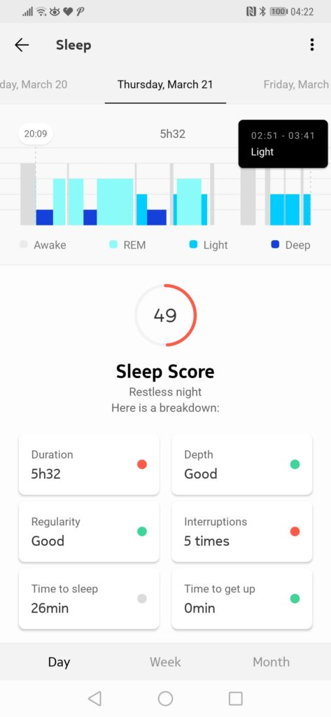 Withings Sleep Tracking Mat Review – Sleep tracking, Apnoea detection & home automation 11