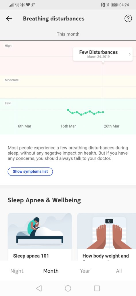 Withings Sleep Tracking Mat Review – Sleep tracking, Apnoea detection & home automation 8