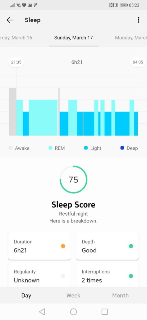 Withings Sleep Tracking Mat Review – Sleep tracking, Apnoea detection & home automation 19