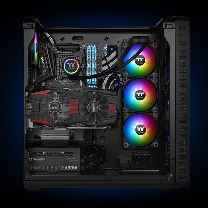 Thermaltake Water 3 0 360 ARGB Sync Edition AIO CPU Cooler Review