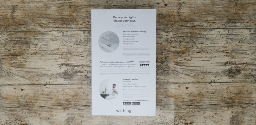Withings Sleep Tracking Mat Review – Sleep tracking, Apnoea detection & home automation 2