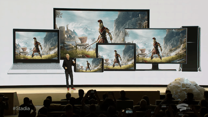 Google Stadia Instant Access Game Streaming Service via Chrome to Launch this Year. Doom Eternal will run at 4K60