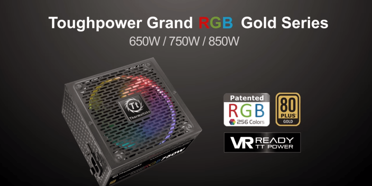 ThermalTake Toughpower Grand 750W RGB Sync Edition 80+ Gold PSU Review