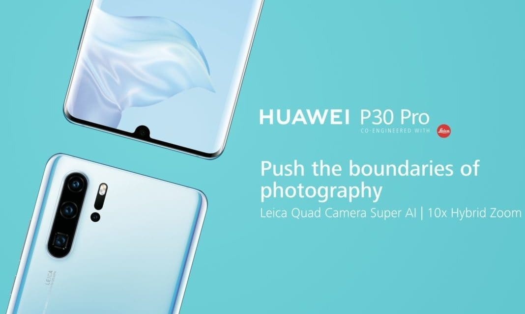 Huawei P30 Pro Announced & Hands on Review – Quad camera, 40MP, 10x zoom, 409600 ISO