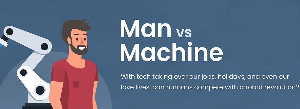 Man vs Machine: Will robots be our saviour or destroyer